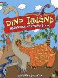 Dino Island Adventure Coloring Book (Paperback)