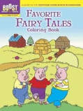 Favorite Fairy Tales Coloring Book (Paperback)