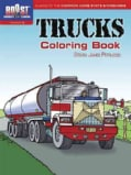Trucks Coloring Book (Paperback)