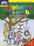 Alphabet Search Coloring Activity Book (Paperback)