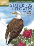 State Birds and Flowers Coloring Book (Paperback)