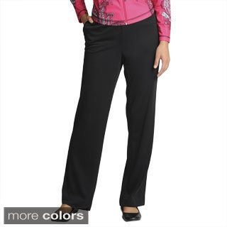 threehearts Women's Rib Waist Pants