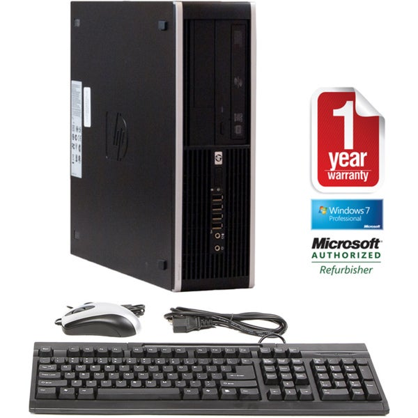 HP 6000 Pro 3.0GHz 4GB 1TB Win 7 Small Form Factor Computer (Refurbished)