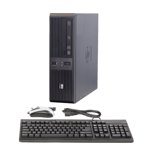 HP RP5700 2.13GHz 4GB 160GB Win 7 Small Form Factor Computer (Refurbished)