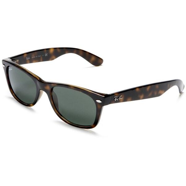 Ray-Ban Unisex Tortoise New Wayfarer Sunglasses