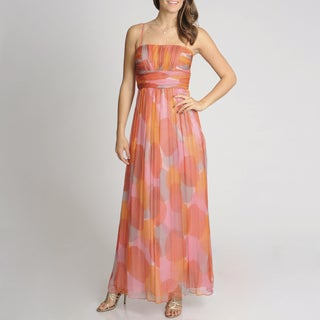 Decode 1.8 Women's Printed Evening Gown