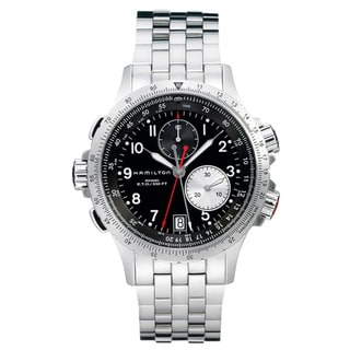 Hamilton Men's 'Khaki ETO' Stainless Steel Watch