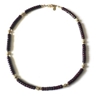 'Gidion' Men's Riverstone Necklace