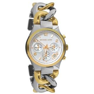 Michael Kors Women's MK3199 Two-tone Chronograph Watch