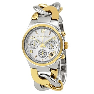Michael Kors Women's MK3199 Two-Tone Chronograph Watch