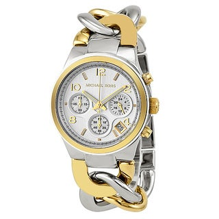 Michael Kors Women's Two-tone Chronograph Watch