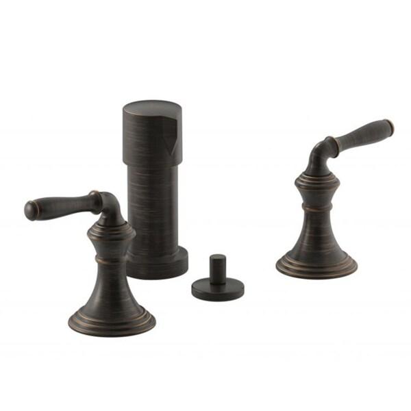Kohler Devonshire Vertical Spray Bidet Faucet with Lever Handles