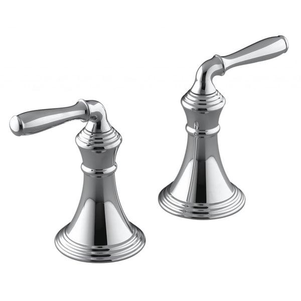 Kohler Devonshire Deck/ Rim-mount Bath Faucet Trim with Lever Handles ...