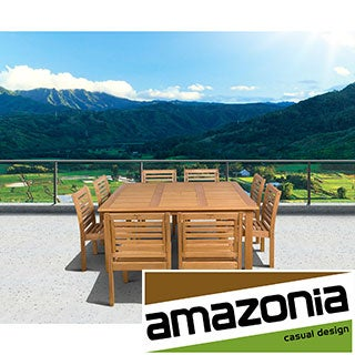 Amelia 9-piece Square Dining Set