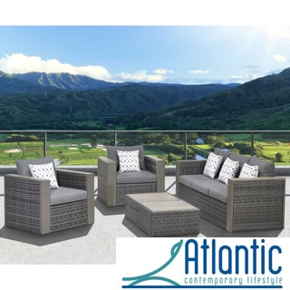 'Freeport' 5-piece Patio Conversation Furniture Set