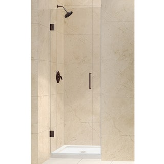 DreamLine Unidoor 26-inch Frameless Hinged Shower Door