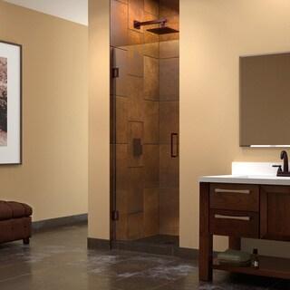 DreamLine Unidoor 26-inch Frameless Hinged Shower Door