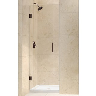 DreamLine Unidoor 28-inch Frameless Hinged Shower Door