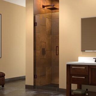 DreamLine Unidoor 28-inch Frameless Hinged Shower Door