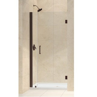 DreamLine Unidoor 32-33-inch Frameless Hinged Shower Door