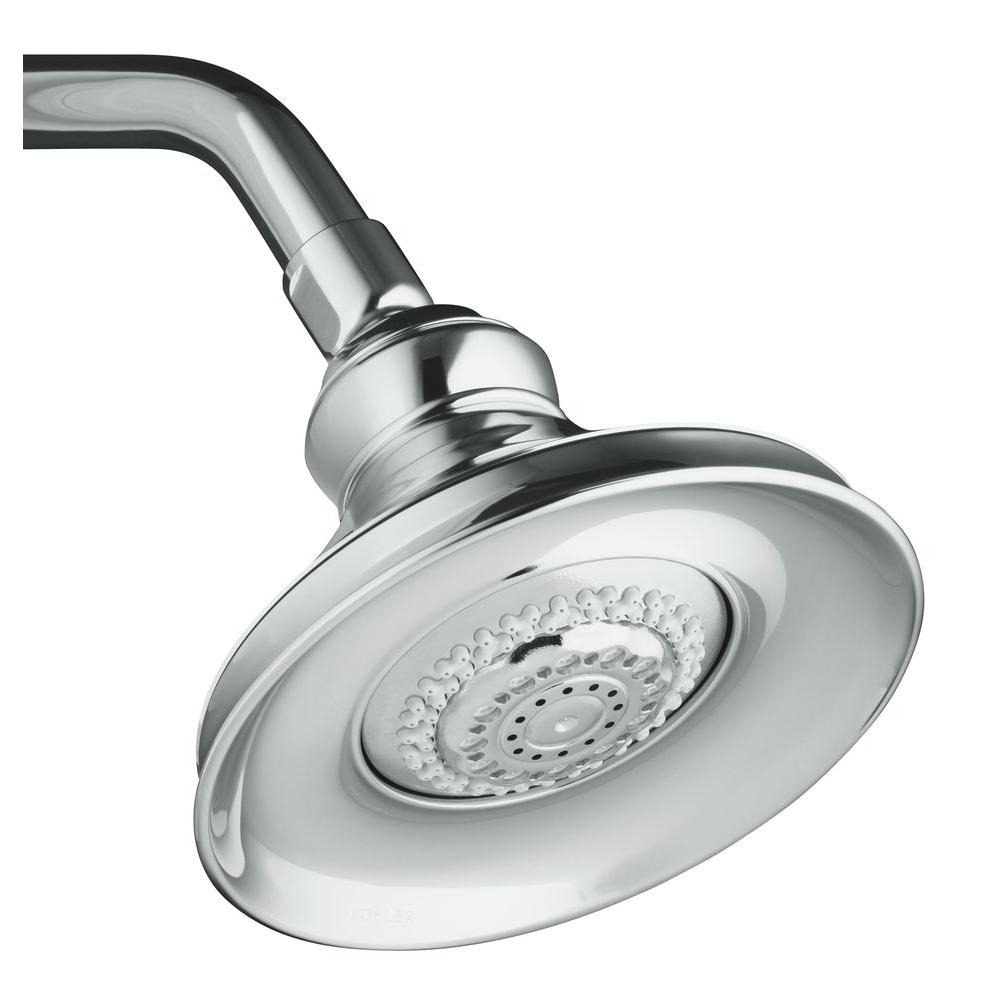 Kohler Revival Polished Chrome Multifunction Showerhead
