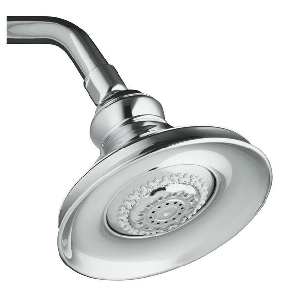 Kohler Revival Polished Chrome Multifunction Showerhead   15390162