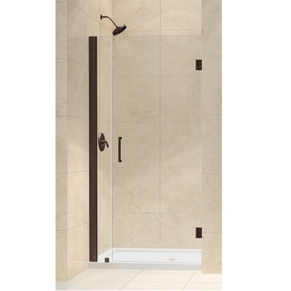 DreamLine Unidoor 35-36-inch Frameless Hinged Shower Door