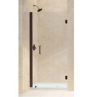 DreamLine Unidoor 35-36-inch Frameless Hinged Shower Door