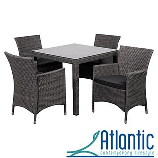'Liberty' Grey 5-piece Square Outdoor Dining Set