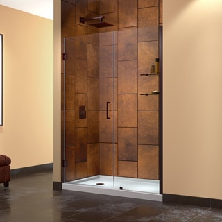 DreamLine Unidoor 56-57-inch Frameless Hinged Shower Door