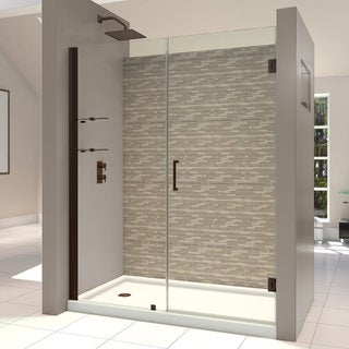 DreamLine Unidoor 60-61-inch Frameless Hinged Shower Door