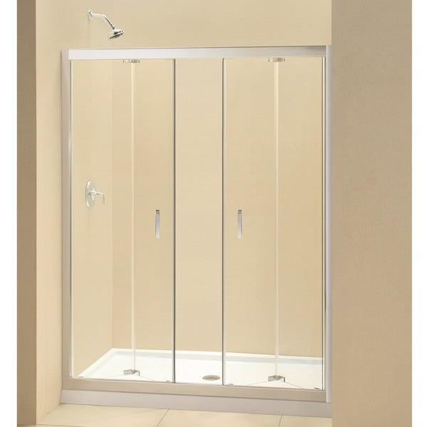 DreamLine Butterfly 58-59.5-inch Frameless Bi-fold Shower Door