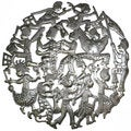 Handmade Rara Band Metal Wall Art- 24 inches(Haiti)