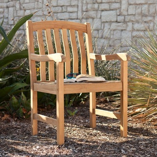 Upton Home Richvale Teak Outdoor Arm Chair