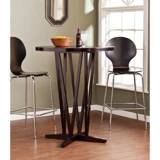 Upton Home Hubert Dark Espresso Bar Table