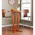 Hubert Pecan Brown Bar Table