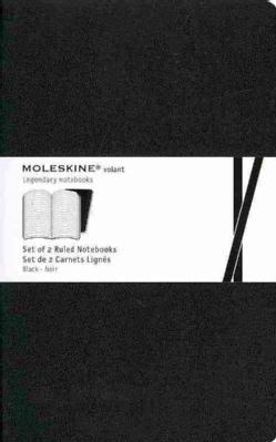 Moleskine Volant Large Ruled Black (Notebook / blank book)
