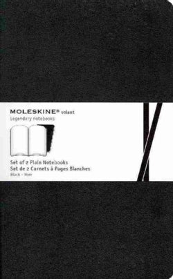 Moleskine Volant Large Plain Black (Notebook / blank book)