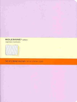 Moleskine Cahiers Journal Extra Large Pastel Ruled (Notebook / blank book)