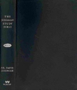 The Jeremiah Study Bible: New King James Version, Black, Genuine Leather (Paperback)