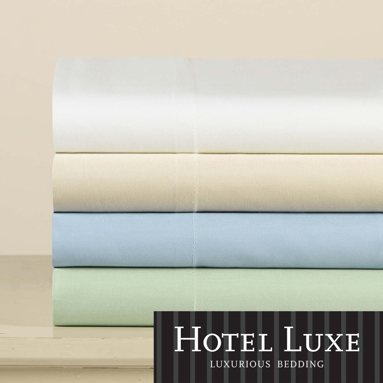 Hotel Luxe 500 Thread Count Cotton Sateen Luxury Sheet Set