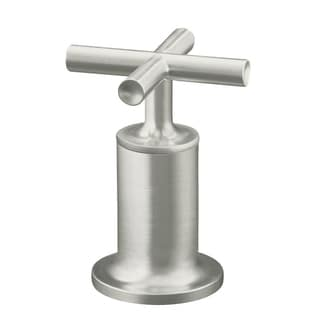 Kohler Purist Deck or Wall-mount High-flow Bath Valve Trim with Cross Handle