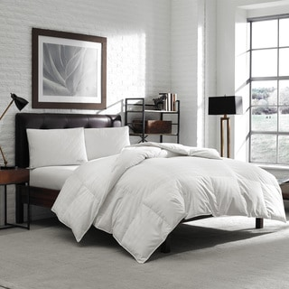 Eddie Bauer 650 Fill Power Oversized Queen/ King-size White Down Comforter