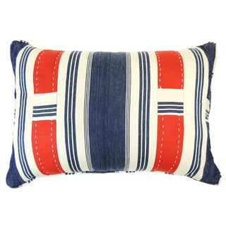 Canon Denim Boudoir Stripe Decorative Throw Pillow