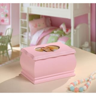 Princess Dianna Pink Jewelry Box with Heart Insert