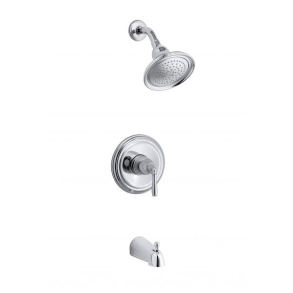 Kohler Devonshire Rite-Temp Pressure-balancing Bath and Shower Faucet ...