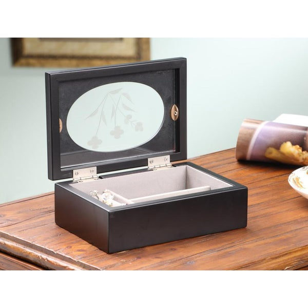 Jade Mini Jewelry Box