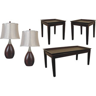 Scottsdale Table / Lamp Set