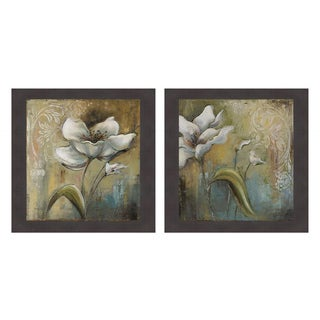 Spring Palm I and II Framed Print