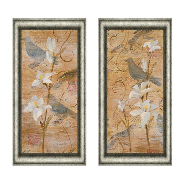 Morning Song I & II Framed Print